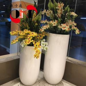 玻璃钢现代简约花盆