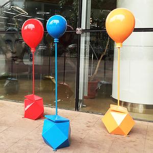 红星广场玻璃钢美陈气球