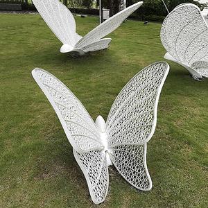 不锈钢户外蝴蝶雕塑