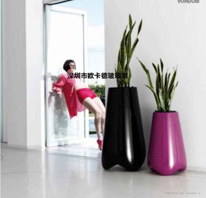 玻璃钢萝卜造型花盆 厂家直销 酒店商场卖场花盆 树脂花盆