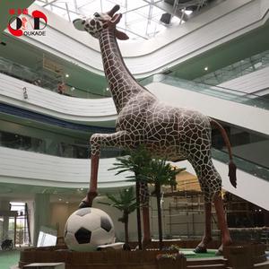 深圳惠州玻璃钢雕塑厂家室内户外大型雕塑动物鹿梅花鹿雕像