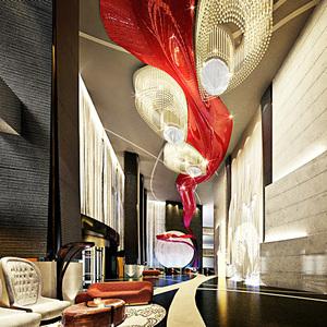 深圳玻璃钢工程 承接硬装 昆钢索菲亚酒店