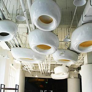 玻璃钢硬装工程实例 三亚湾红树林电影工坊