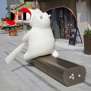 欧卡德玻璃钢雕塑坐凳